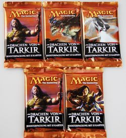5x Drachen von Tarkir Booster deutsch - Magic the Gathering
