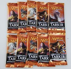 10x Drachen von Tarkir Booster deutsch - Magic the Gathering