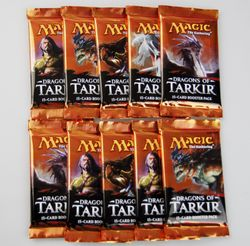 10x Dragons of Tarkir Booster englisch - Magic the Gathering