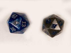 Spindown Würfel Set Duel Decks Anthology (1x blau und 1x grau)