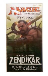 Battle for Zendikar Event Deck - Ultimate Sacrifice - englisch Magic MtG