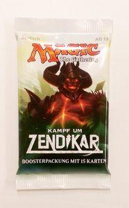 Kampf um Zendikar Booster deutsch - Magic the Gathering