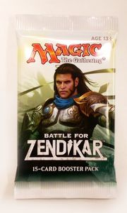 Battle for Zendikar Booster englisch - Magic the Gathering