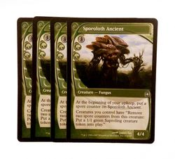 4x Sporoloth Ancient - Future Sight - engl. NM