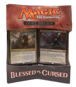Blessed vs. Cursed Magic the Gathering Duel Decks englisch MtG