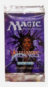 Magic the Gathering : Alliances Booster Pack englisch