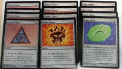 12 Signet aus Dissension ! engl. NM ( Azorius, Rakdos, Simic)