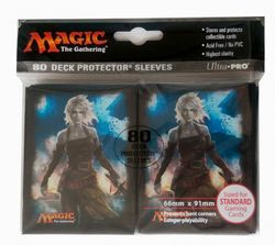 80 Shadows over Innistrad MtG Sleeves - Ultra Pro (66x91mm) – Bild 3