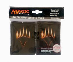 80 Planeswalker Logo MtG Sleeves - Ultra Pro (66x91mm)