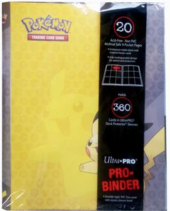 Pokemon Pro Binder - Pikachu 9-Pocket
