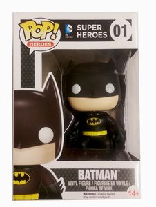 Funko POP! Heroes DC Comics Classic Batman #7498 LIMITED
