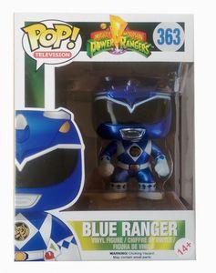Funko POP! Television Power Rangers Metallic Blue Range limited 10cm #10859