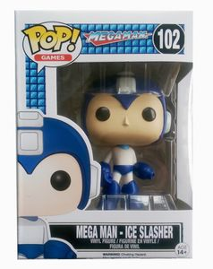 Funko POP! Games Megaman - Ice Slasher Vinyl Figure 10cm limited #10362