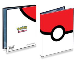 Pokemon 4-Pocket Portfolio Pokeball #85247 von Ultra Pro – Bild 1