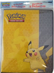 9-Pocket Portfolio - Pokemon Pikachu #84554 von Ultra Pro