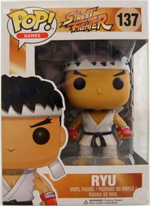 Funko POP! Games : Street Fighter - Ryu with Headband White Variant #12419