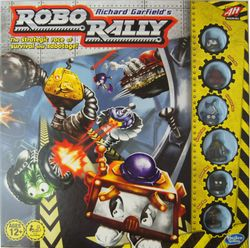 Robo Rally - englisch - Brettspiel – Bild 1
