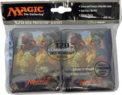 120 Commander 2016 Magic MtG Sleeves - Ultra Pro (66x91mm) – Bild 4