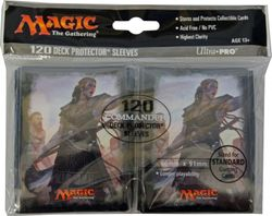 120 Commander 2016 Magic MtG Sleeves - Ultra Pro (66x91mm) – Bild 5