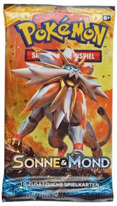 Pokemon Sammelkarten Booster - Sonne & Mond 01 deutsch
