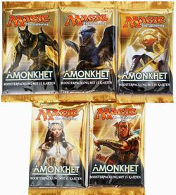 5x Amonkhet Booster Pack deutsch - MtG Magic the Gathering