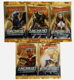 5x Amonkhet Booster Pack englisch - MtG Magic the Gathering