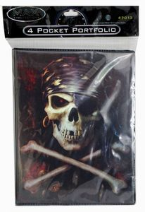 Max Protection 4-Pocket Portfolio: Pirate
