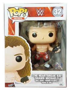 "Funko POP! WWE - Shawn Michaels ""The Heartbreak Kid"" #13442"
