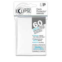 60 White Ultra Pro Eclipse SMALL Sleeves (62x89mm)
