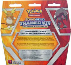 Pokemon - Sonne & Mond - Trainer Kit #10 - deutsch Trainerkit – Bild 2