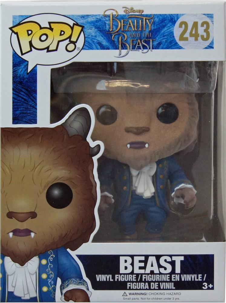 Die Schöne und das Biest Beast POP Figur Flocked 9 cm Funko