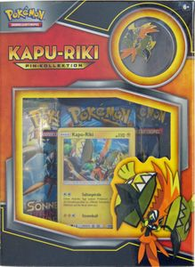 Pokemon Kapu-Riki Pin Box deutsch – Bild 1