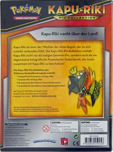 Pokemon Kapu-Riki Pin Box deutsch – Bild 2