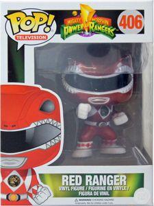 Funko POP! Television Power Rangers Metallic Red Ranger #12551