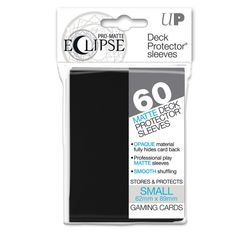 60 Black Ultra Pro Eclipse SMALL Sleeves (62x89mm)