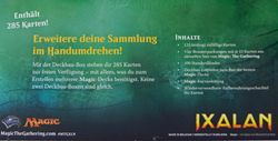 Ixalan Deck Builder's Toolkit - deutsch MtG Deckbau Box – Bild 2