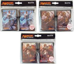 80 Ixalan Magic MtG Sleeves - Ultra Pro (66x91mm) – Bild 1