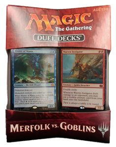 Merfolk vs. Goblins Magic the Gathering Duel Decks englisch MtG – Bild 1