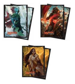 80 Rivals of Ixalan Magic MtG Sleeves - Ultra Pro (66x91mm)  – Bild 1