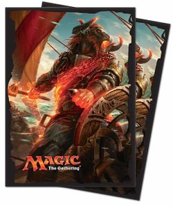 80 Rivals of Ixalan Magic MtG Sleeves - Ultra Pro (66x91mm)  – Bild 2