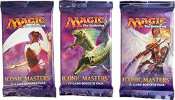 3x Iconic Masters Booster Pack englisch - MtG Magic the Gathering