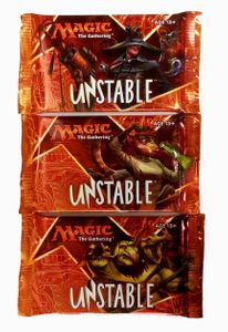 3 Unstable Booster Packs englisch - MtG Magic the Gathering