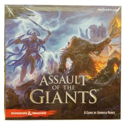 Dungeons and Dragons - Assault of the Giants Boardgame - englisch