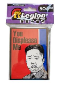 Legion Gloss Sleeves - Grumpy Kim - (50 Sleeves - 67mm x 92mm)