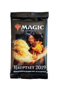 Hauptset 2019 Booster Pack deutsch - Magic the Gathering