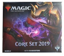 Core Set 2019 Fat Pack Bundle englisch Magic the Gathering  – Bild 1
