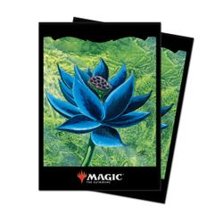 100 Ultra Pro MtG Magic Sleeves - Black Lotus Motiv - (66x91mm)