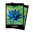 100 Ultra Pro MtG Magic Sleeves - Black Lotus Motiv - (66x91mm)  001