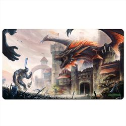 Blackfire Playmat - Guarding Dragon - Ultrafine 2mm (61x35cm)