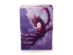 Dragon Shield Deck Shell - ART - Racan - Clear Purple